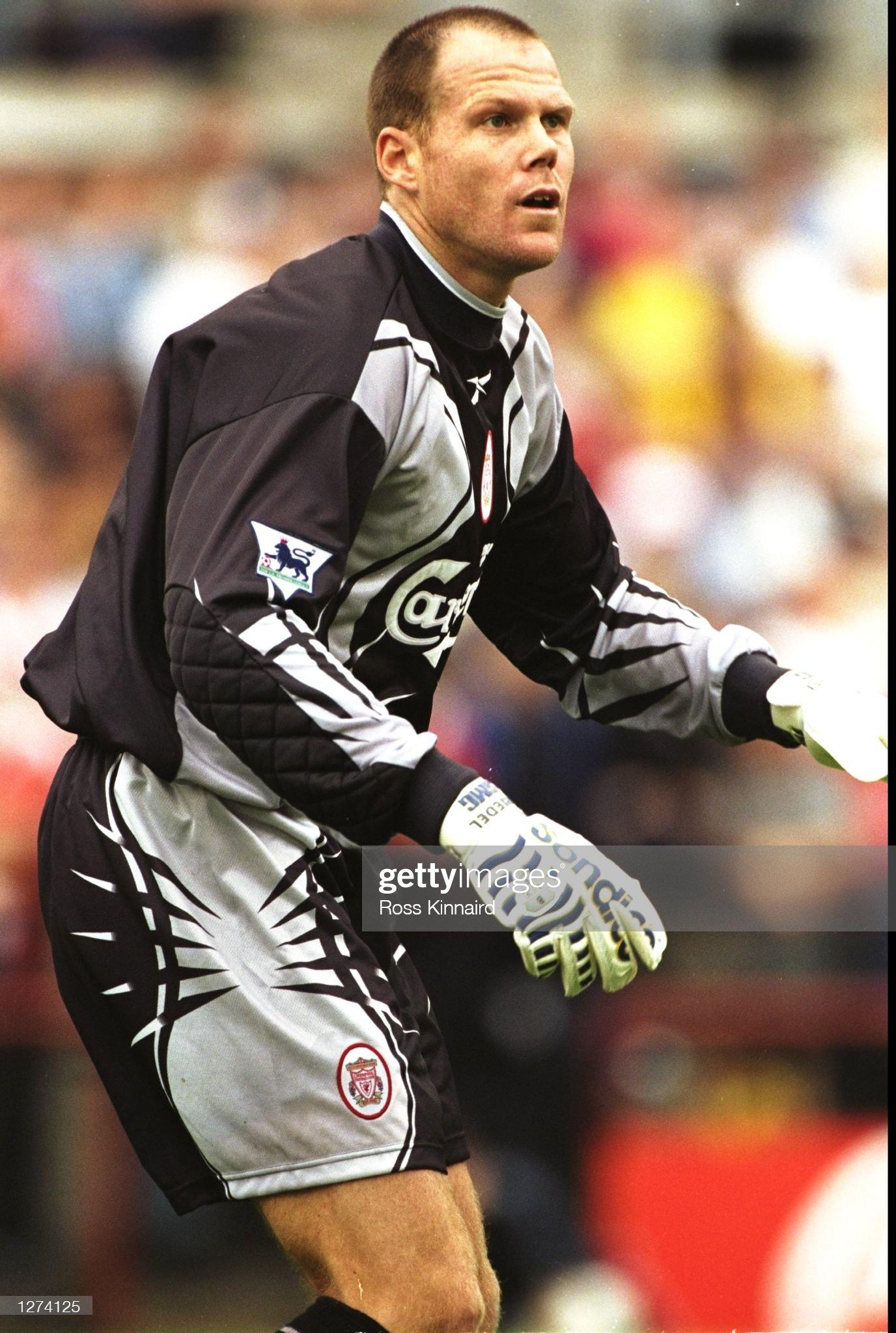 Liverpool goalkeeper Brad Friedel : News Photo