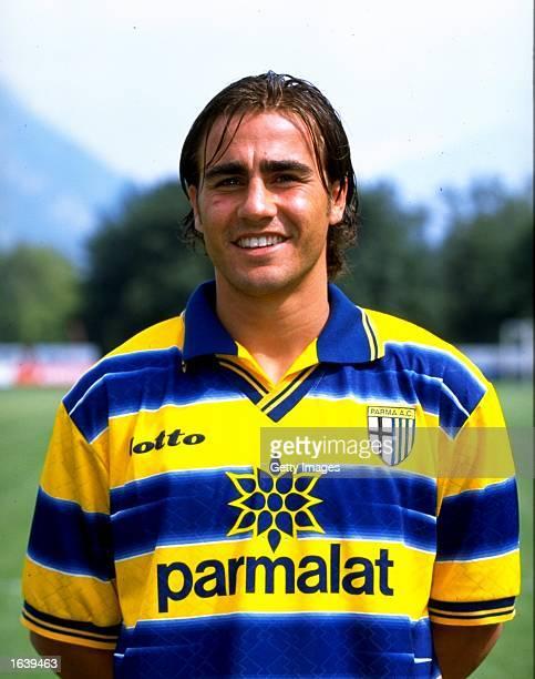 Portrait of Fabio Cannavaro of Parma in Parma Italy Photo Claudio Villa Mandatory Credit Allsport UK /Allsport