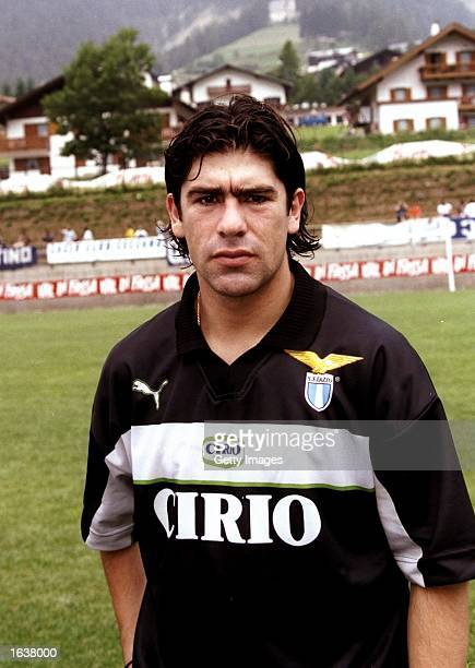 Pre season portrait of Marcelo Salas of Lazio at the Olimpic Stadium Rome Italy Mandatory Credit Allsport UK /Allsport