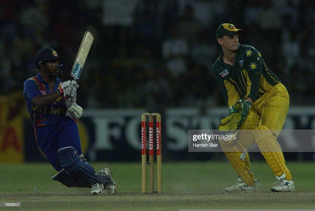Sri Lanka v Aust : News Photo