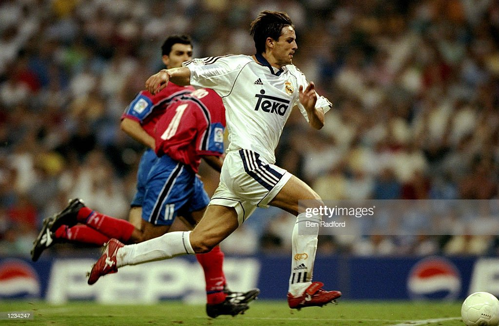 Fernando Morientes of Real Madrid : News Photo