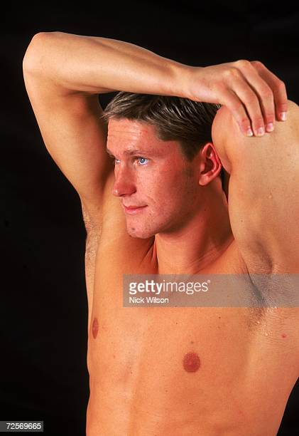Lenny Krayzelburg of the USA poses for the camera during the Pan Pacific Championships at Sydney International Aquatic Centre in Homebush Sydney...