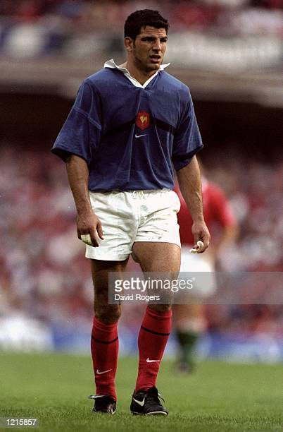 Marc Lievremont of France during the Rugby World Cup warmup match against Wales at the Millennium Stadium in Cardiff Wales Mandatory Credit Dave...