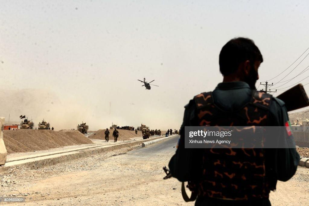 AFGHANISTAN-KANDAHAR-ATTACK-NATO CONVOY : News Photo