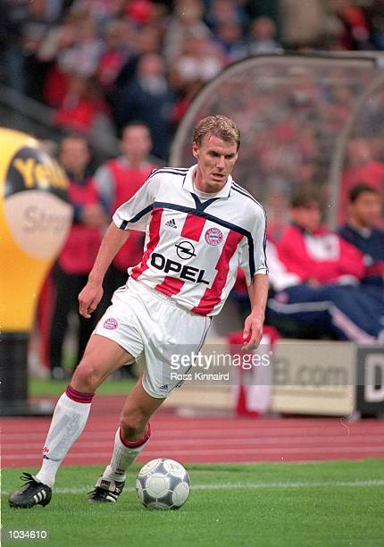 Alexander Zickler of Bayern Munich in action during the PreSeason Friendly Tournament match against Galatasaray at the Olympic Stadium in Munich...