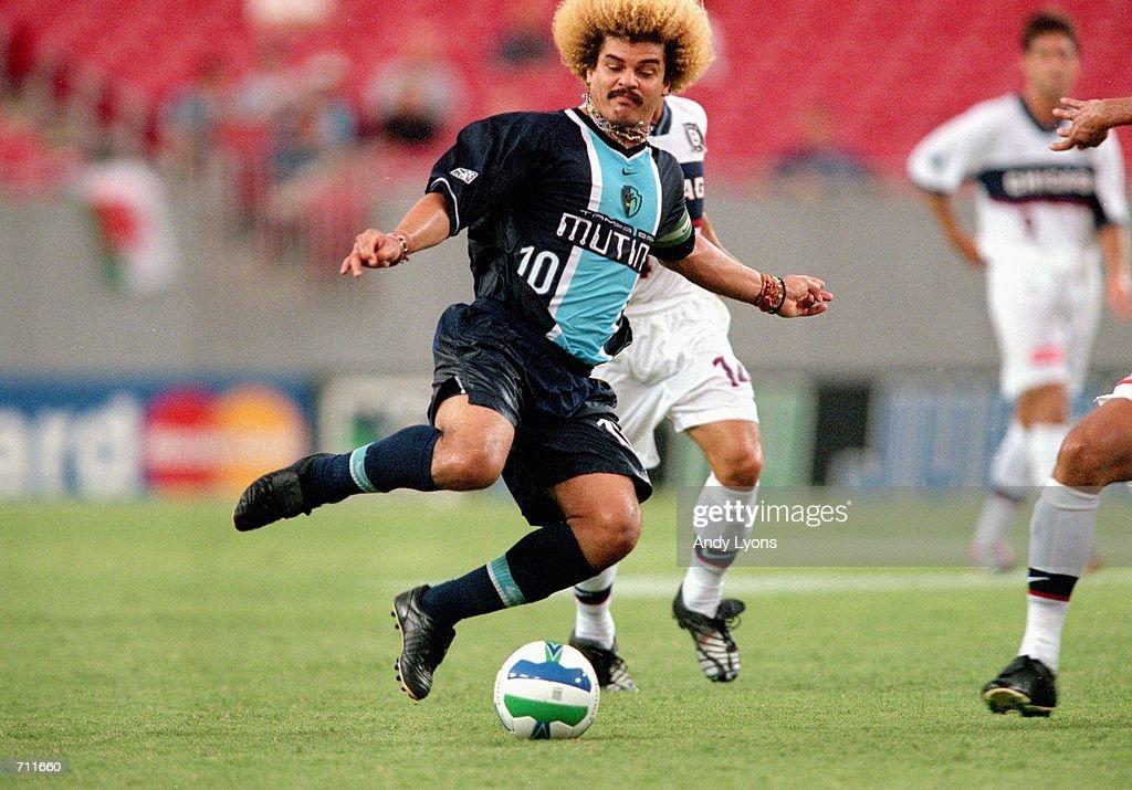 Talisman & Co. | Tampa Bay Mutiny 2000 Nike Home Jersey | Carlos Valderrama