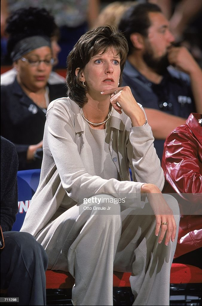 Coach Anne Donovan Of The Indiana Fever Watches The Action During A Game Against The Seattle