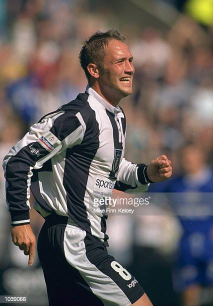 Craig Ramage of Notts County in action during the Nationwide League Division Two match against Millwall at Meadow Lane in Nottingham England Millwall...