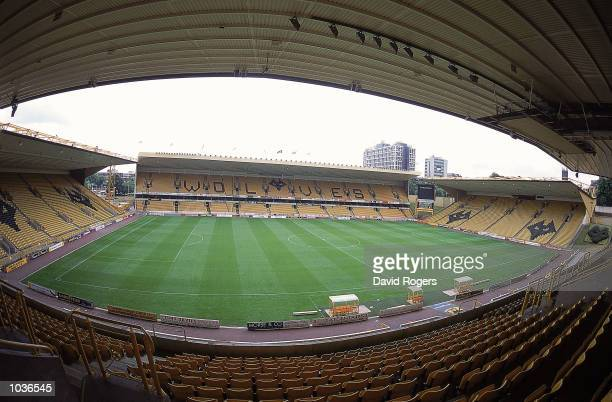 General view of the stadium during the Nationwide League Division One match between Wolverhampton Wanderers and Sheffield Wednesday at Molineux in...