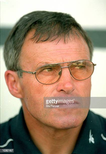 Headshot of Crewe manager Dario Gradi during the Nationwide League Division One match against Fulham at Craven Cottage in London Fulham won the match...