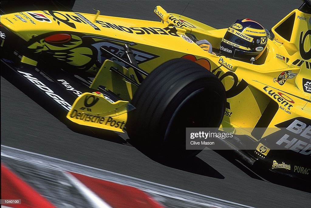 Heinz-Harald Frentzen : News Photo