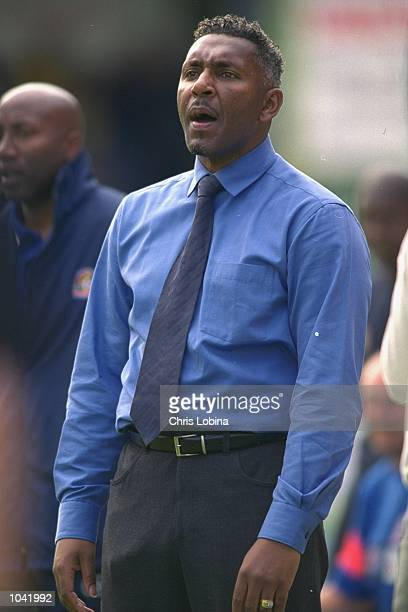 Luton Town manager Ricky Hill during the Nationwide League Division Two match against Wycombe Wanderers at Adams Park in Wycombe, England. The match...