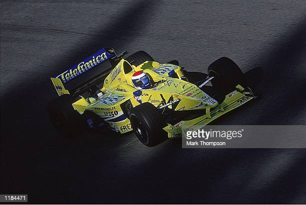 Marc Gene of Spain and Minardi in action during the Belgian Formula One Grand Prix at the Circuit de Spa-Francorchamps in Spa, Belgium. \ Mandatory...