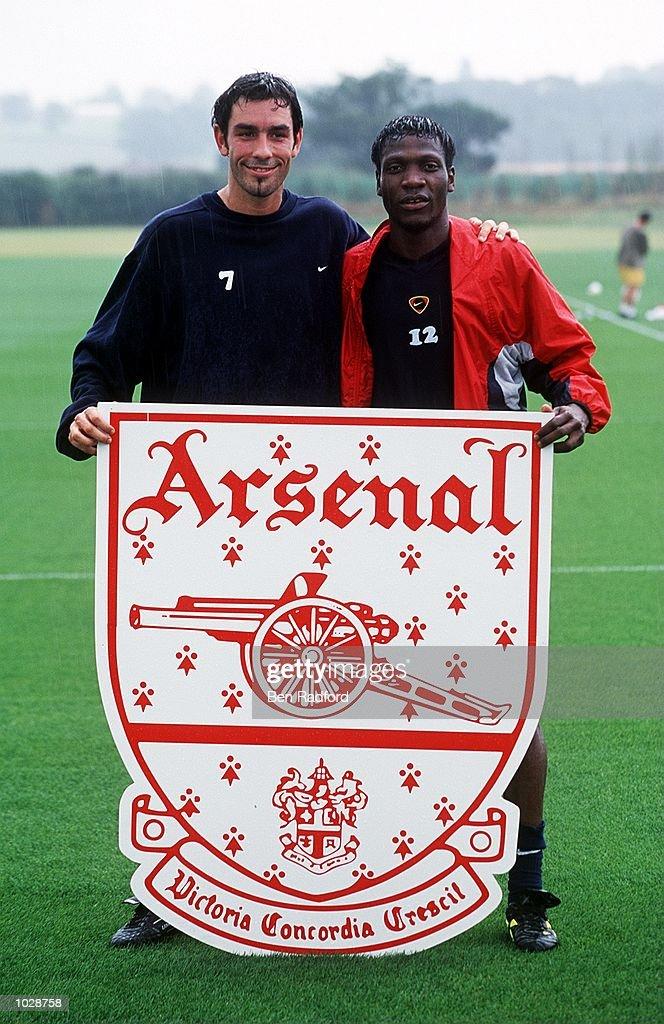 Arsenal Training : News Photo