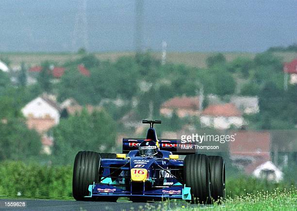 Perdo Diniz of Brazil and Sauber during the third free practice session for the Hungarian Grand Prix at Budapest Hungary Mandatory Credit Mark...