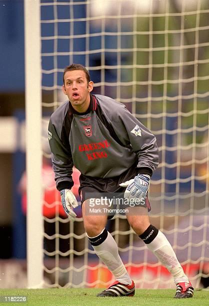 Richard Wright of Ipswich in action during the PreSeason Friendly match against AZ Alkmaar at Portman Road in Ipswich England Ipswich won 21...