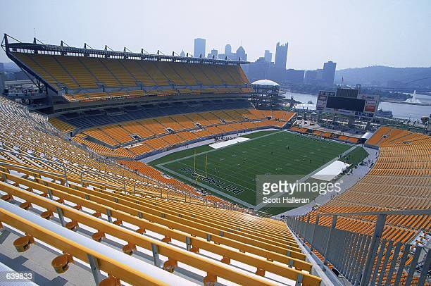 A general view of Heinz Field before the PreSeason game between the Detroit Lions and the Pittsburgh Steelers in Pittsburgh PennsylvaniaMandatory...