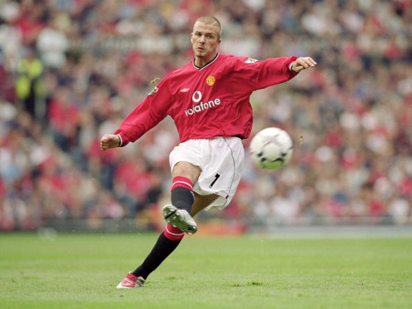 5 of David Beckham's best free kicks