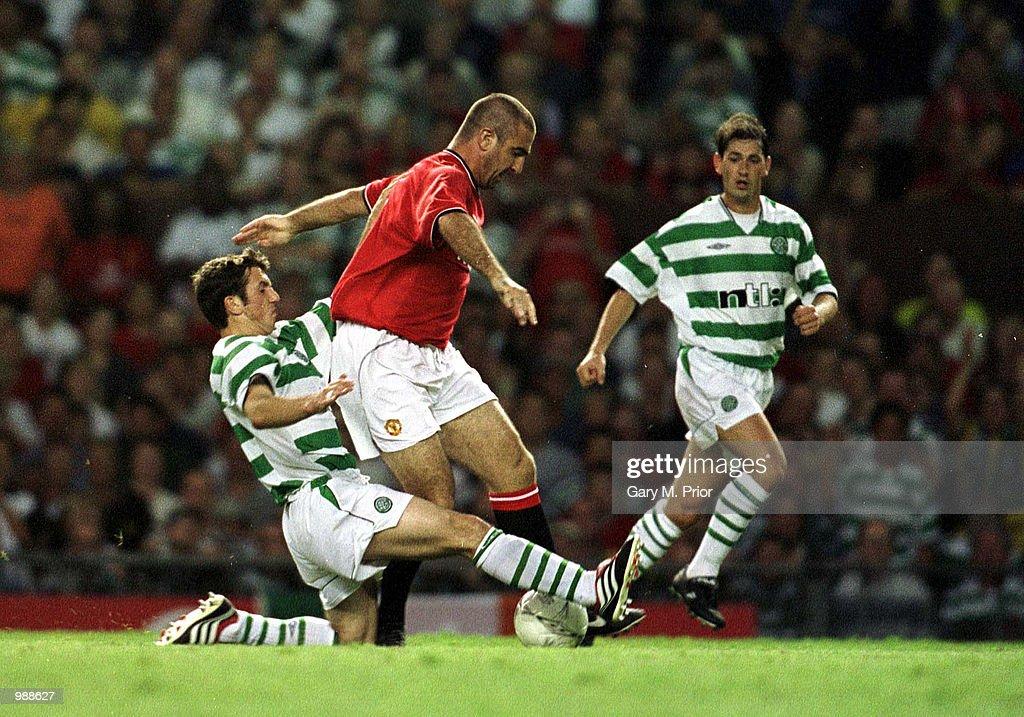 Man Utd v Celtic : News Photo