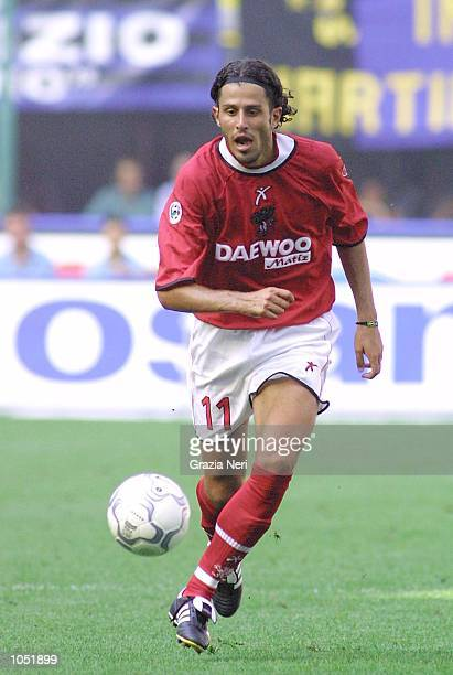 Fabio Grosso of Perugia in action during the Serie A game between Inter Milan and Perugia at the San Siro Stadium, Milan. DIGITAL IMAGE Mandatory...