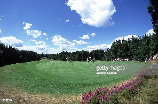 General view of the action during the Weetabix Women's Open on the Old Course at Sunningdale Golf Club in Sunningdale England Mandatory Credit...