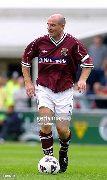 John Frain of Northampton Town during a Nationwide League Division Two match played between Northampton Town v Bristol City in Northampton England...