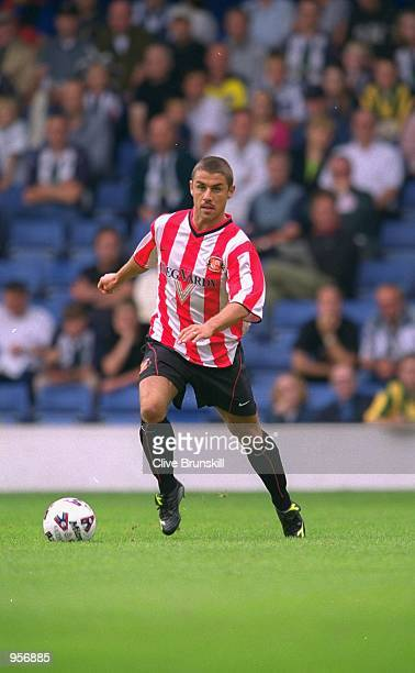 Kevin Phillips of Sunderland in action during the preseason friendly match against West Bromwich Albion played at The Hawthorns in Birmingham England...