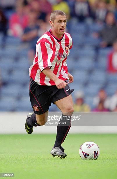 Kevin Phillips of Sunderland on the ball during the preseason friendly against West Bromwich Albion at the Hawthorns in West Bromwich in England...