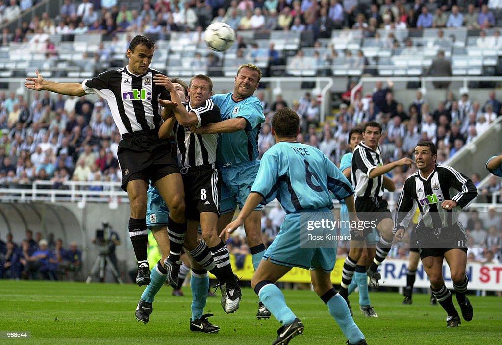 Newcastle v Munich X : News Photo