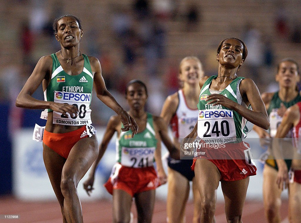 IAAF World Champs X Radcliffe : News Photo
