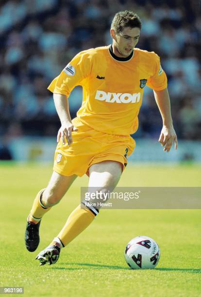 Phil Jevons of Grimsby in action during the Nationwide Division One match between Portsmouth and Grimsby played at Fratton Park in Portsmouth in...