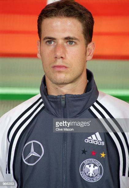 Portrait of Lars Ricken of Germany prior to the International friendly match between Hungary and Germany played at the Nepstadion in Budapest Hungary...