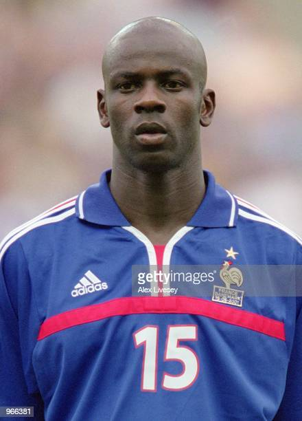 Portrait of Lilian Thuram of France before the start of the International Friendly match against Denmark played at the Stade de Beaujoire in Nantes...
