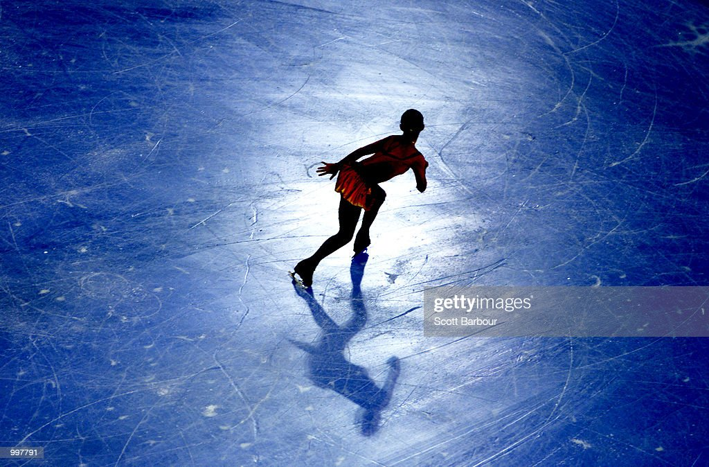 Sasha Cohen of USA in action during the Ladies Free Skate during the Figure Skating held at the Brisbane Entertainment Centre at the Goodwill Games in Brisbane, Australia. DIGITAL IMAGE. Mandatory Credit: Scott Barbour/ALLSPORT