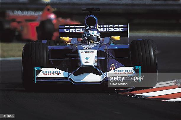 Sauber driver Kimi Raikkonen in action during the Formula One Hungarian Grand Prix at the Hungaroring in Budapest Hungary Mandatory Credit Clive...