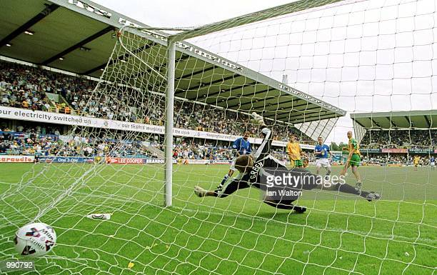 Steve Claridge of Millwall scores the first goal during the Nationwide Division One match between Millwall and Norwich City at The Den London...