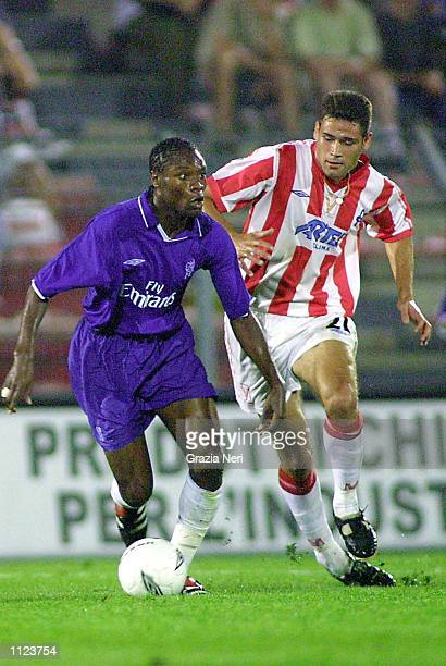 William Gallas of Chelsea in action during the preseason friendly between Vicenza and Chelsea in Vicenza Italy DIGITAL IMAGE Mandatory Credit Grazia...