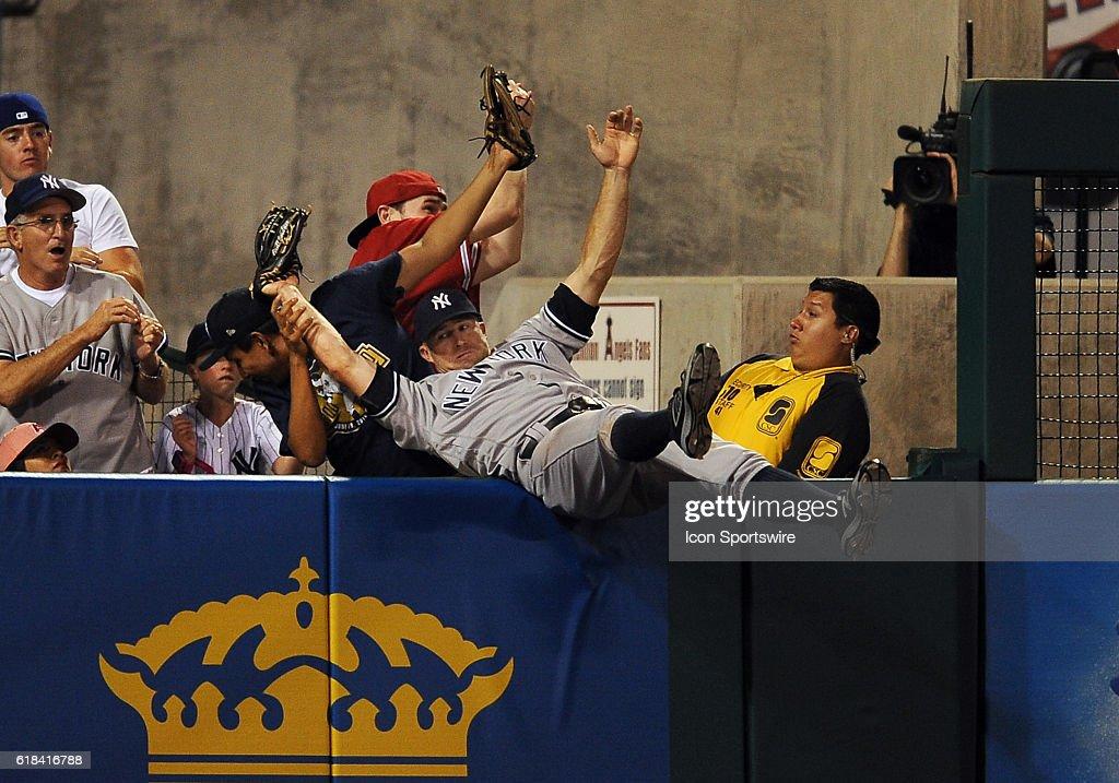 MLB: AUG 20 Yankees at Angels : News Photo