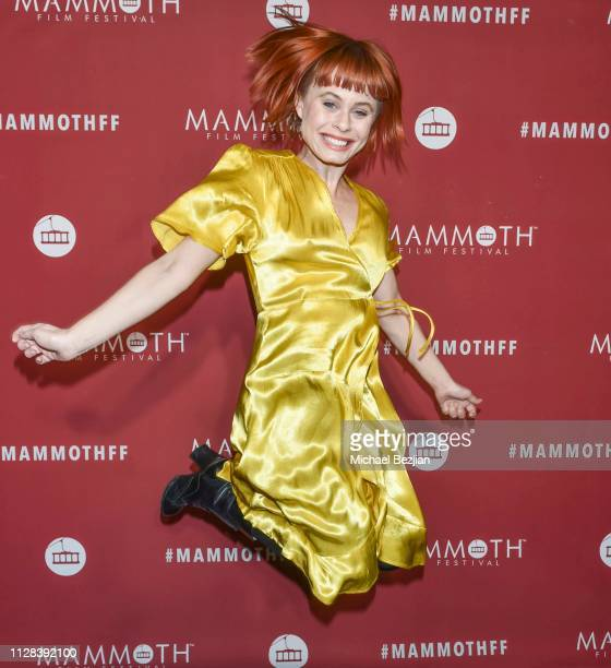 Augie Duke arrives from the movie Burning Duke at 2nd Annual Mammoth Film Festival on February 07 2019 in Mammoth California