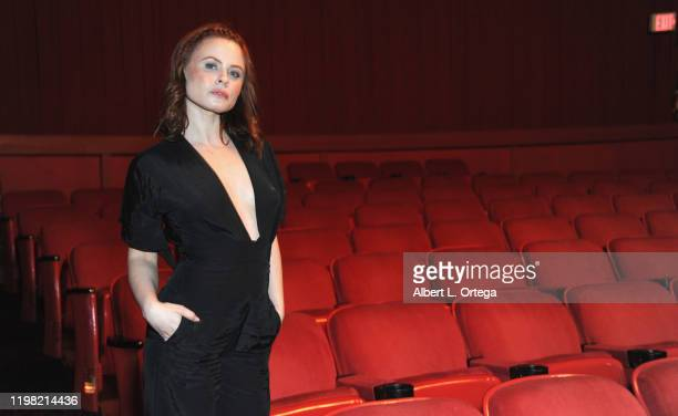 Augie Duke attends the Premiere Of Burning Kentucky held at Fine Arts Theatre on February 2 2020 in Beverly Hills California