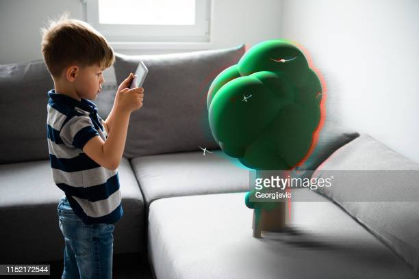 augmented reality - erweiterte realität stock-fotos und bilder