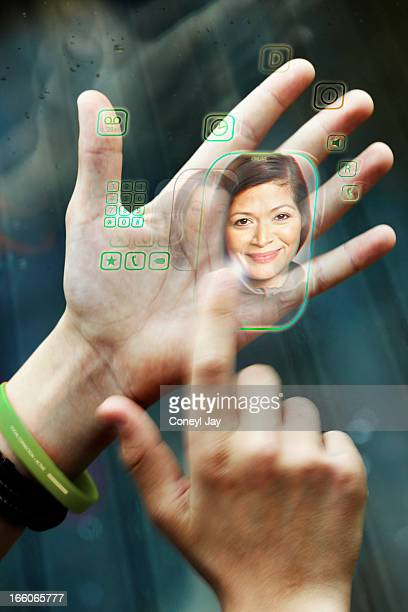 augmented reality - coneyl stock pictures, royalty-free photos & images
