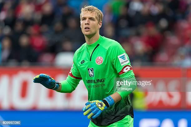 Augsburg Deutschland Bundesliga 3 Spieltag FC Augsburg 1 FSV Mainz 05 Torwart Jonas Loessl