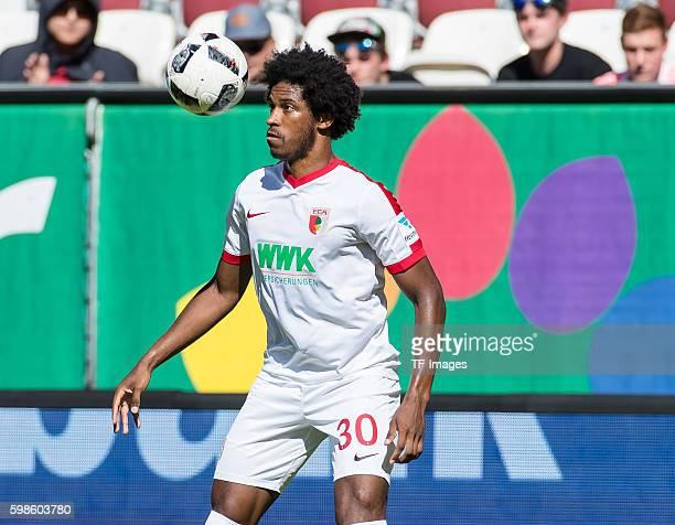 Augsburg Deutschland Bundesliga FC Augsburg VfL Wolfsburg Caiuby Francisco da Silva