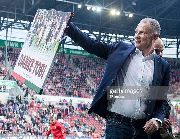 Augsburg Germany Bundesliga 9Spieltag FC Augsburg FC Bayern Muenchen Geschaeftsfuehrer Sport Stefan Reuter