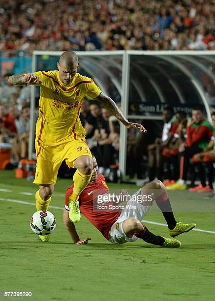 August 04 XXXXXXXXX during the International Champions Cup Match Between Manchester United and Liverpool at Sun Life Stadium in Miami Gardens, Florida