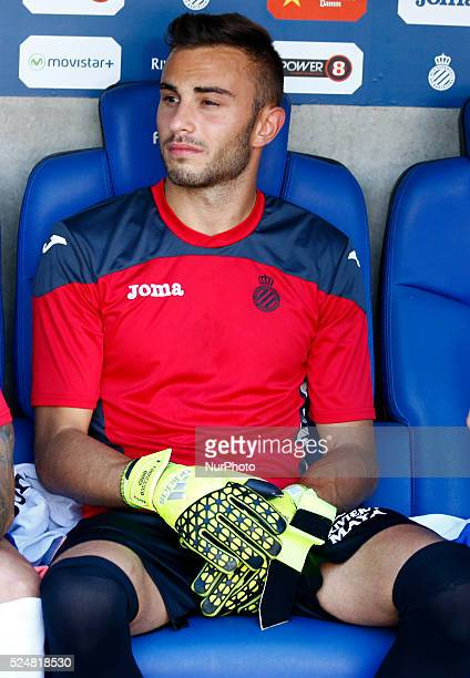 Francesco Bardi in the match between RCD Espanyol and Real Betis for the trophy Ciutat de Barcelona played at the Power8 Stadium 09 august 2015 Photo...