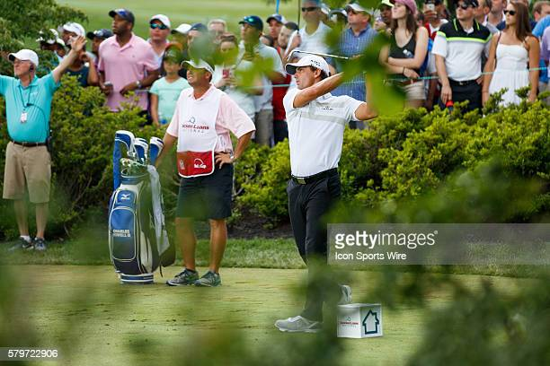 Charles Howell III during the third round of the Quicken Loans National at Robert Trent Jones Golf Course in Gainesville, Virginia.