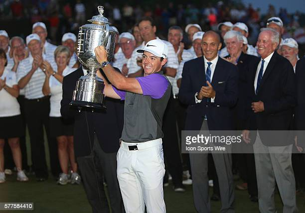Rory McIlroy wins the PGA Championship at Valhalla Golf Club in Louisville Ky