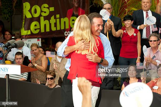 August 13 2012 FLORIDA ATTORNEY GENERAL PAM BONDI JEFF ATWATER CFO of Florida Mitt Romney Campaigns in South Florida On His Bus Tour For A Stronger...